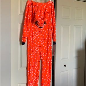 Cat  Jack girls onesie pajamas size L (10 12) d0b07e0cd
